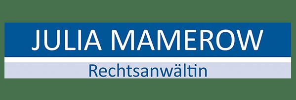 Logo Julia Mamerow - Rechtsanwältin für Markenrecht