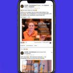 iPhone-Mockup mit Facebook-Profil der Bäckerei Coors aus Osnabrück