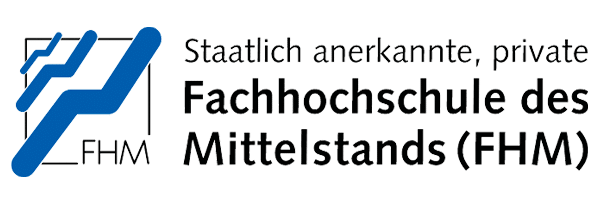 Logo der Fachhochschule des Mittelstands in Bielefeld